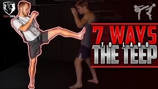 7 Ways to Land the TEEP in Sparring: Muay Thai Strategies