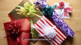 DIY Geschenke schön verpacken / 5 Varianten / © Probiere das mal aus!