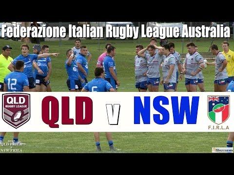 2017 QLD v NSW FIRLA (Federazione Italian Rugby League Australia)@Innisfail 20.10.17