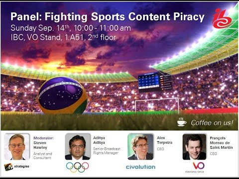 Fighting Sports Content Piracy – IBC 2014 Panel Discussion