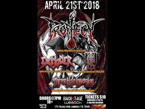"4-21-18 PROPHECY at Backstage in Lubbock, TX! ""In The Name Of GOD"""