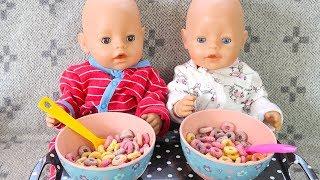 Радужныи Завтрак Утро Беби Бон Куклы Пупсики Двоиняшки #Бебибон Мультики Для детеи