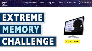 🔥 Take the Extreme Memory Challenge and Help The DART Neuroscience Memory Research | Nelson Dellis
