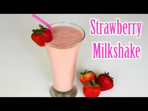 How To Make A Homemade Strawberry Banana Smoothie
