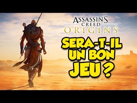 ASSASSIN'S CREED ORIGINS: SERA-T-IL UN BON JEU?