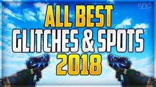 Black Ops 3 : All The Best Working Glitches & Spots 2018 - All Maps Bo3 Montage