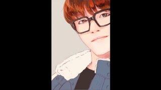 [Speed Paint ] BTS Taehyung Selca