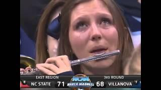 Villanova Crying Piccolo Player Captures The Emotional Roller Coaster