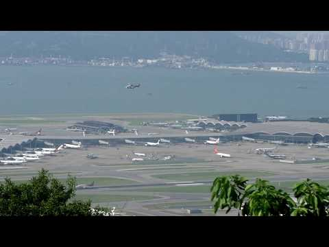 Hong Kong Aircraft Movements with ATC