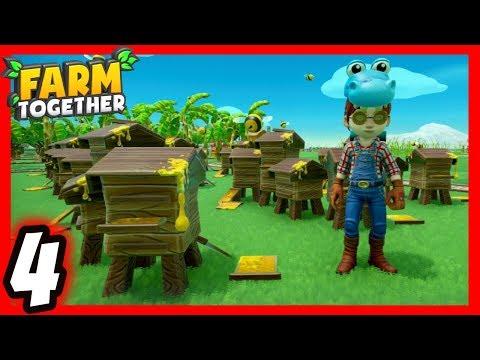 Farm Together [4] Bees, Piranha & Sharks