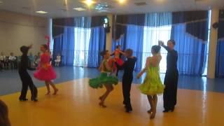 Миша и Ева. Ю - 1. Танцы Звёздного. Открытый урок.