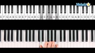 How to Play a G7 Chord on Piano