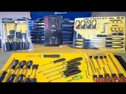 Best Screwdriver Set For The MONEY? Tekton | Kobalt | Snap O