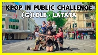 [KPOP IN PUBLIC CHALLENGE] (G)I-DLE (여자)아이들) _ LATATA | Dance cover by GUN Dance Team from Vietnam