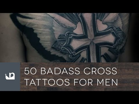 50 Badass Cross Tattoos For Men