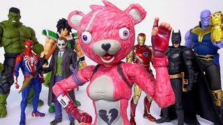 フォートナイト ピンクのクマちゃん 7インチアクションフィギュアレビュー【この値段でこの作り!衝撃です☆】 マクファーレン・トイズ