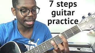 How to practice rhythmic guitar | Full guitar lesson with Congolese Rumba beat