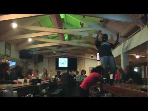 Best Harlem Shake, Mackey's Sand Bar, South Bimini, The Bahamas