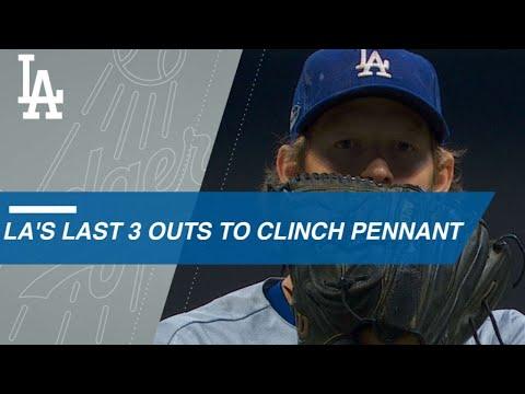 Kershaw locks down Dodgers' trip to the World Series