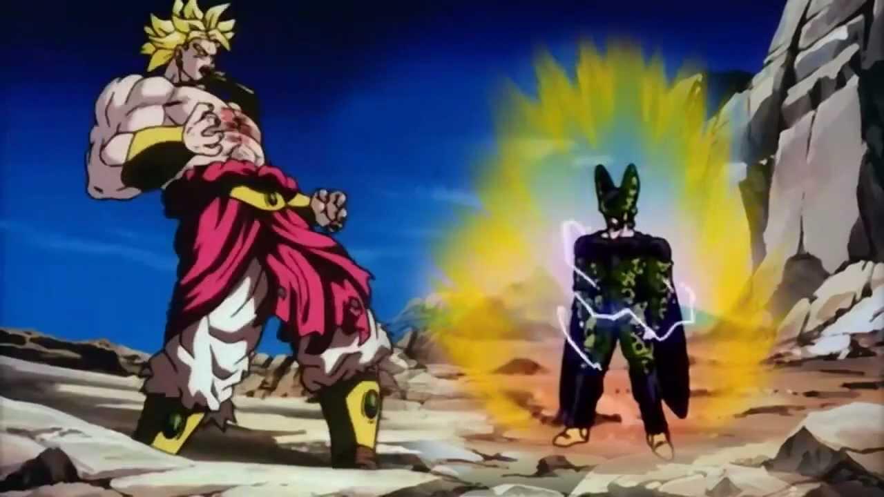 Goku vs broly fan animation - 1 10