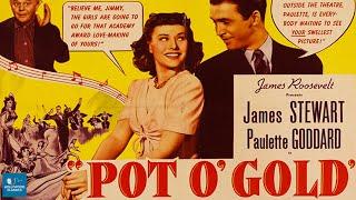 Pot o' Gold (1941) | Full Movie | James Stewart, Paulette Goddard, Horace Heidt