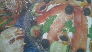Смотреть как сделать Салат (Хазар) азербайджанская кухня