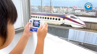 プラレールカメラで写真を撮りました in 鉄道博物館【がっちゃん】 thumbnail