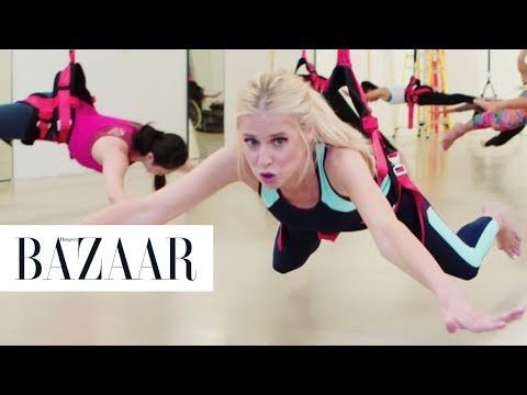 Crazy Bungee Excercising - The Younger Games | Harper