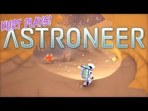 Kurt Plays ASTRONEER - 35 - Return to the Arid Planet