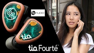 64Audio Tia Fourte AMAZING Earphones Review