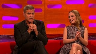 Download George Clooney's honeymoon at Comic Con - The Graham Norton Show: Series 17 Episode 7 - BBC One Mp3 and Videos