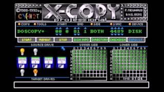 x copy professional 3 1 disk copying program for commodore amiga