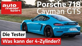 Porsche 718 Cayman GTS: Was kann der 4-Zylinder mit 365 PS? - Test/Review   auto motor und sport