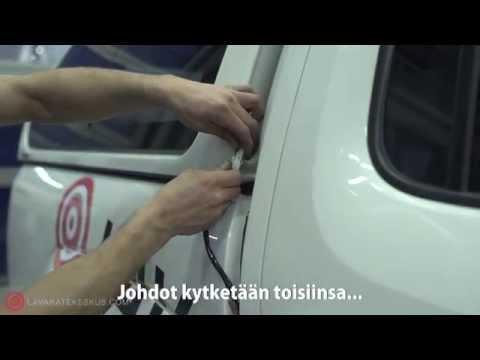 Aeroklas Leisure lavakatteen asennusvideo - Lavakatekeskus.com