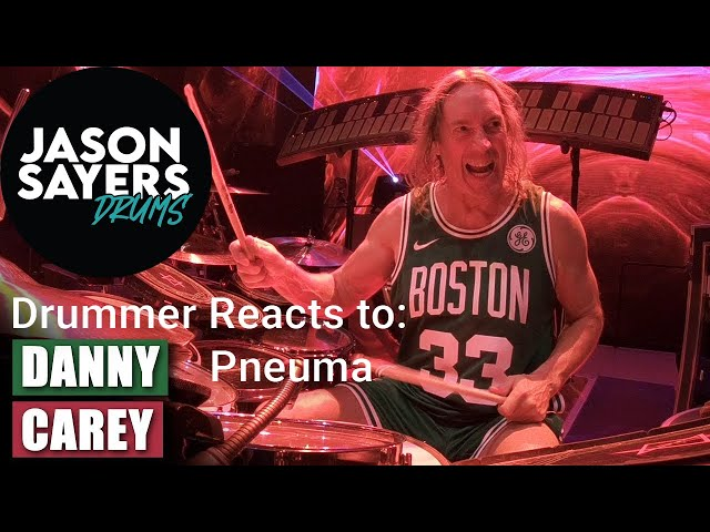 Drummer Reacts to - Danny Carey from TOOL - Perform Pneuma Live