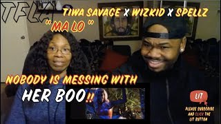 Tiwa Savage Ft. Wizkid & Spellz - Ma Lo  | (THATFIRE LA) Reaction