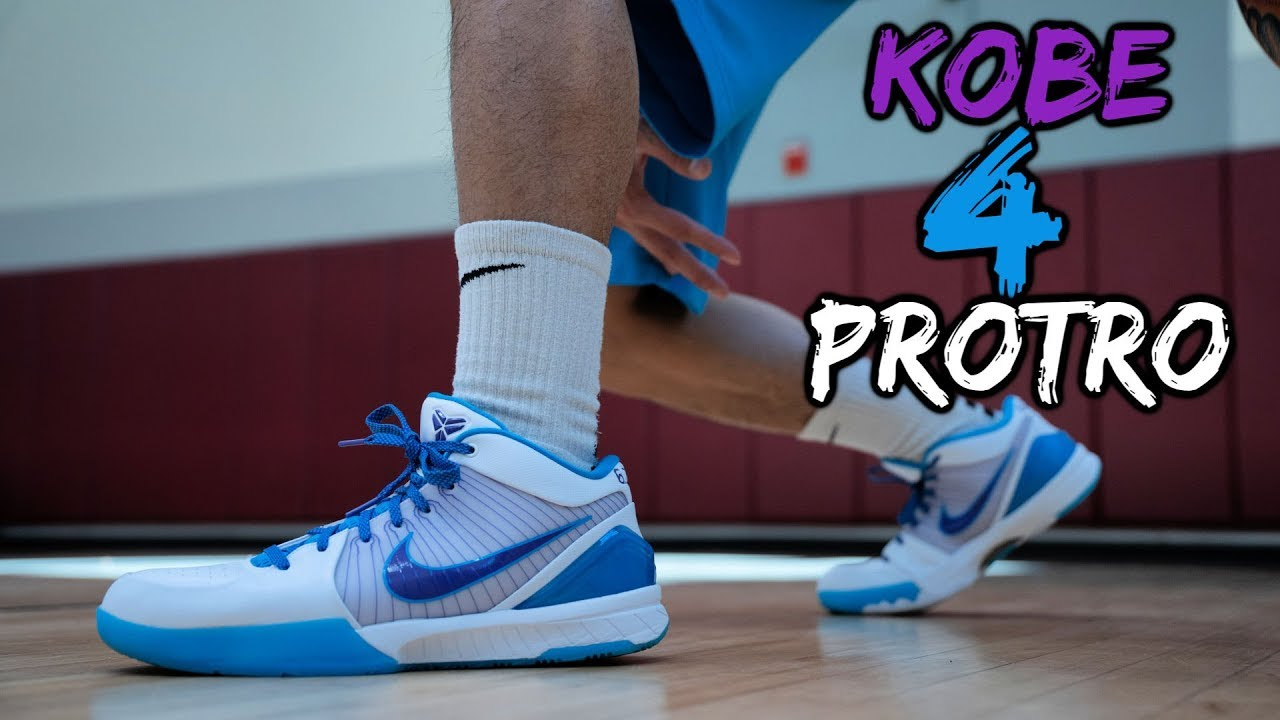 7b60007949fb Nike Kobe 4 Protro Performance Review! EVERYTHING YOU NEED TO KNOW ...