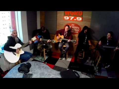 """Anthrax """"Antisocial"""" Acoustic Live At WGRD In Grand Rapids, MI 4/7/17"""