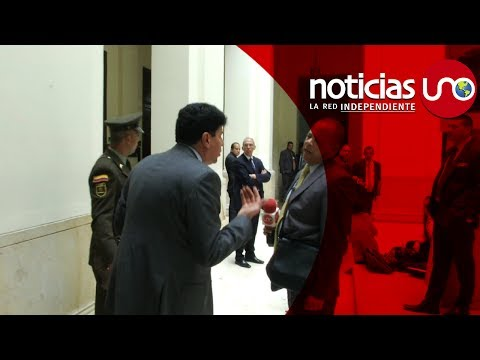 """""""Falso positivo"""" del subsecretario del Senado, Saúl Cruz, a Noticias Uno"""
