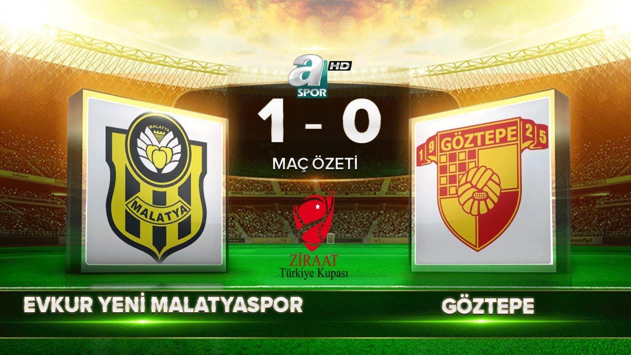 Evkur Yeni Malatyaspor 1-0 Göztepe | Maç Özeti