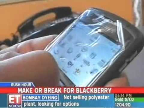 India may ban BlackBerry services