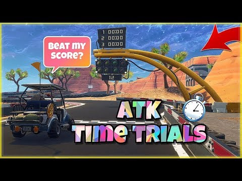 Atk Golf Cart Time Trials In Fortnite Battle Royale Can You Beat