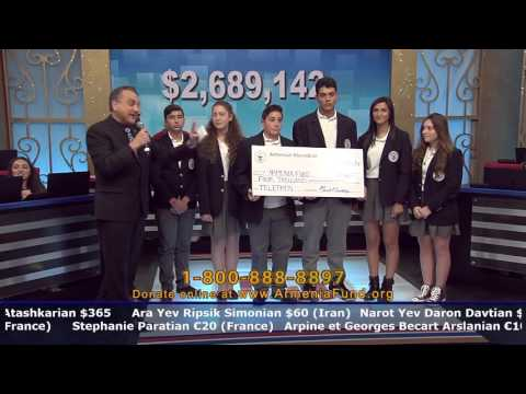 Armenian Mesrobian School at Armenia Fund Telethon 2015