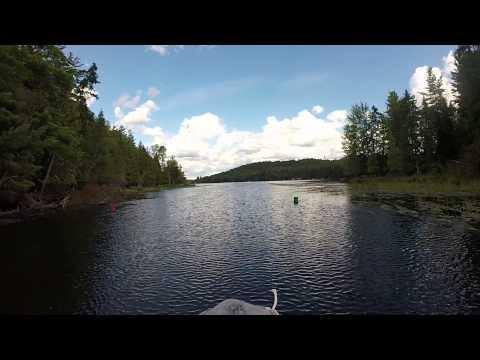 THE CHANNEL (fish Creek Ponds To Upper Saranac Lake)