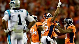 Week 1: Denver Broncos beat Carolina Panthers 21-20! Graham Gano misses game winning field goal!