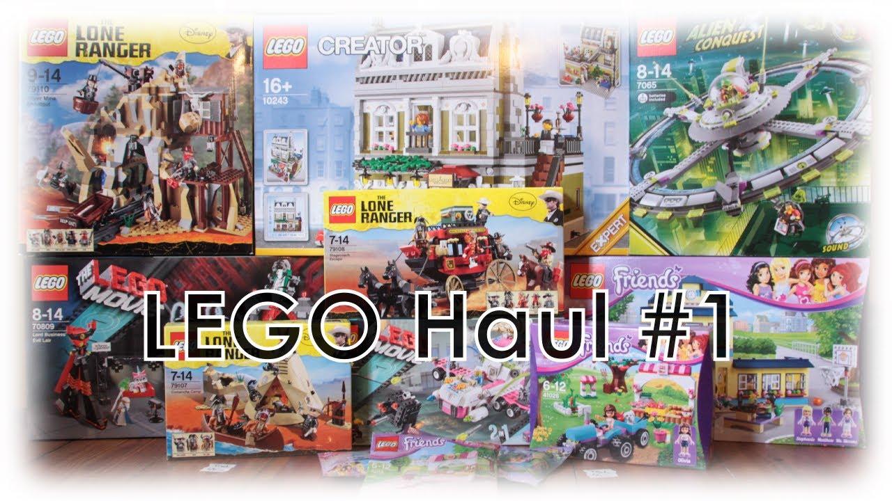 """Galeria Kaufhof, Toys""""R""""us & LEGO Store - LEGO Haul #1 (German/Deutsch) #1"""