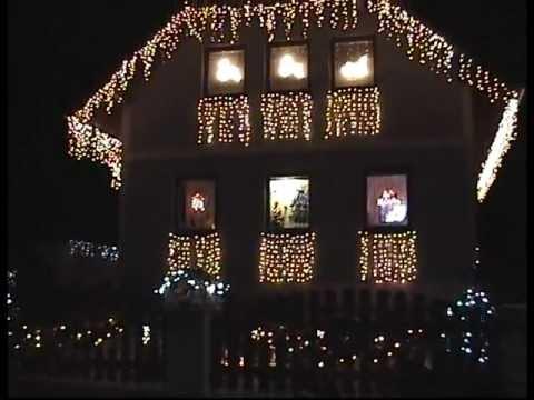 Haus Weihnachtsbeleuchtung.Weihnachtsbeleuchtung Haus Christmas Lights Mpg