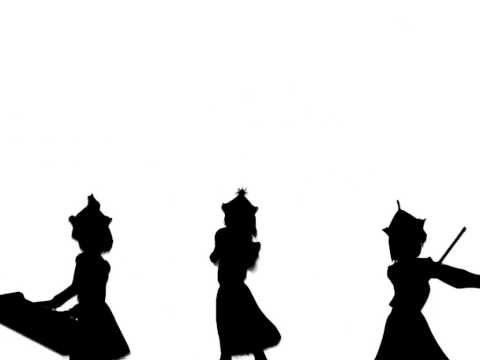 [HD] Touhou - Bad Apple!! [PV] (Shadow Art)