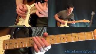 Iron Man Guitar Lesson Pt.2 - Black Sabbath - Main Solo