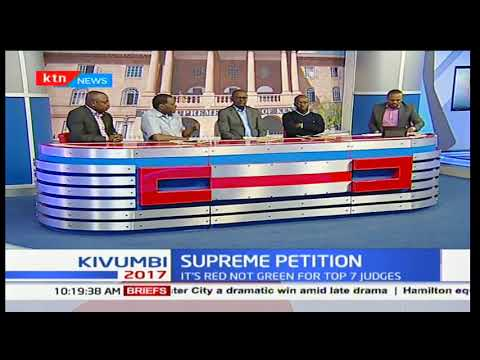7 judge bench choose red robes in significance to the magnitude of the presidential petition